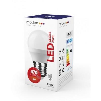 LAMPADINA LED E27 6 W G45 MINIGLOBO MODEE COLORE LUCE A SCELTA