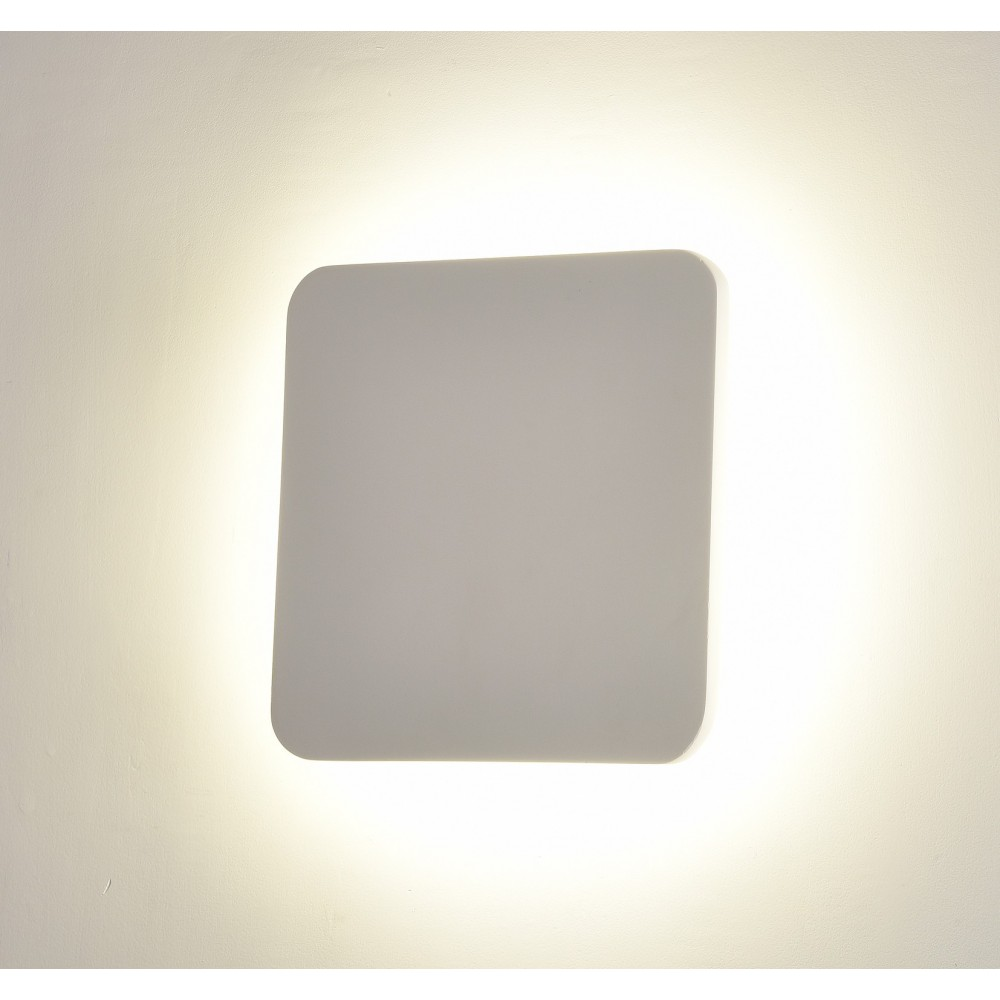 APPLIQUE LAMPADA LED DA MURO QUADRATA 300 MM 18 W