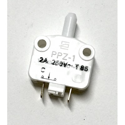SWITCH PUSH PORTA INTERRUTTORE ON/OFF 250 V  2 A BIANCO