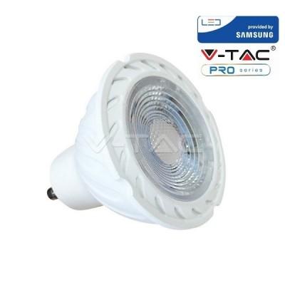 FARETTO LED 7 W GU10 220V V-TAC CHIP SAMSUNG 38° MODELLO VT-277 COLORE LUCE A SCELTA