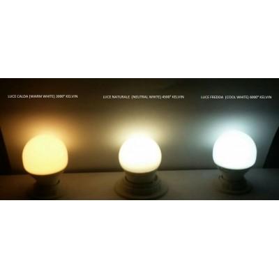 LAMPADINA IPERLUX  LED 15 W E27 LUCE BIANCA A SCELTA ANG. 240°