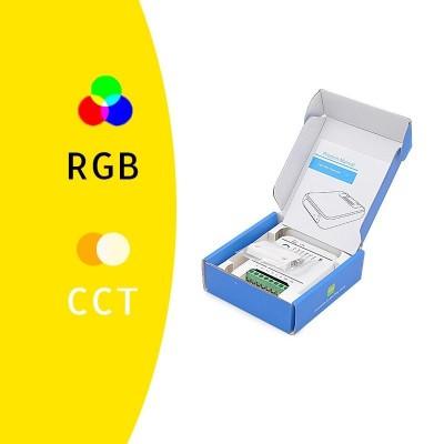 CONTROLLER STRISCE LED 12V/24V 5 canali rgb/W/WW WiFi compatibile con Amazon Alexa e Google Home