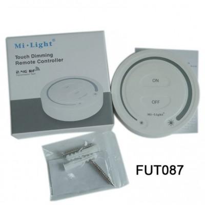 CONTROLLER REMOTE RF DA PARETE PER STRISCE LED MONOCOLORE (DIST. 30MT) MI-LIGHT FUT087