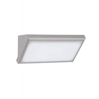 APPLIQUE LAMPADA DA PARETE LED 20 W GRIGIO ESTERNO IP65