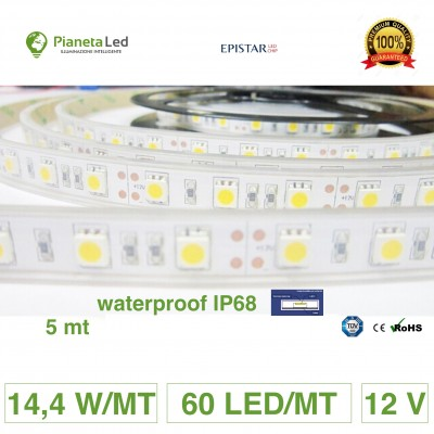 5 METRI STRISCIA 300 LED...