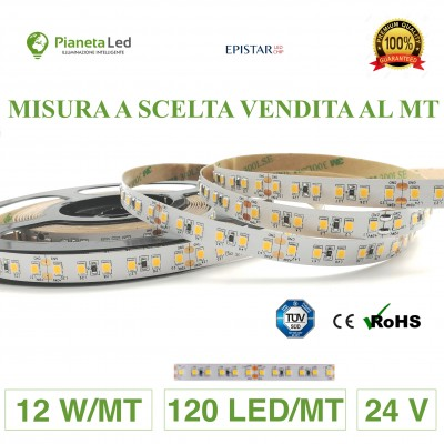 1 METRO STRISCIA 120 LED/MT...