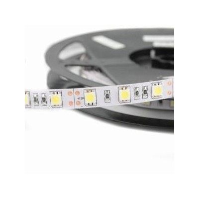 5 METRI STRISCIA 300 LED 5050 SMD PER INTERNO IP20 12 V DC