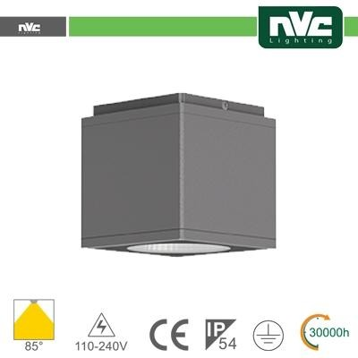 Downlight Cubo LED IP54 da soffitto - 8W 640lm 3000k 30°