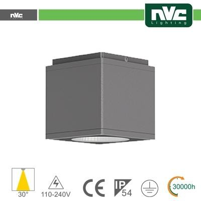 Downlight Cubo LED IP54 da soffitto - 12W 960lm 3000k 85°