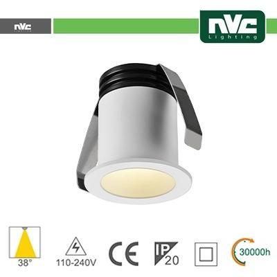 Punto Luce LED 2W 4000K 38° IP20 FORO:35mm