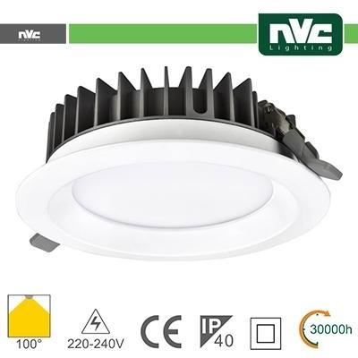 Downlight LED IP40 20W 5700K 1800LM 100º FORO:150mm