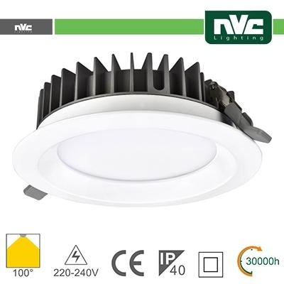 Downlight LED IP40 30W 5700K 2700LM 100º FORO:200mm