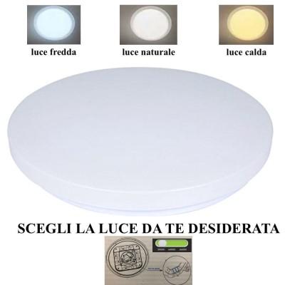 PLAFONIERA A LED 24 W 120°...