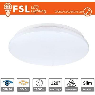 Plafoniera LED 18W 5700K 120° 33x5,5cm CRI80