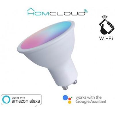 Faretto GU10 ad incasso Wi-FI RGB+BIANCO CALDO dimmerabile
