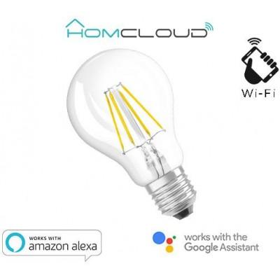 Lampadina Wi-FI a filamento bianco caldo Dimmerabile