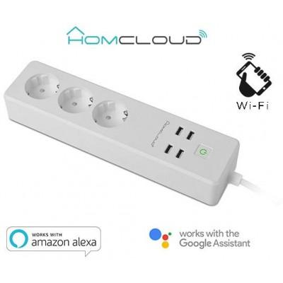 Multipresa Intelligente Wi-Fi 16A Schuko + USB