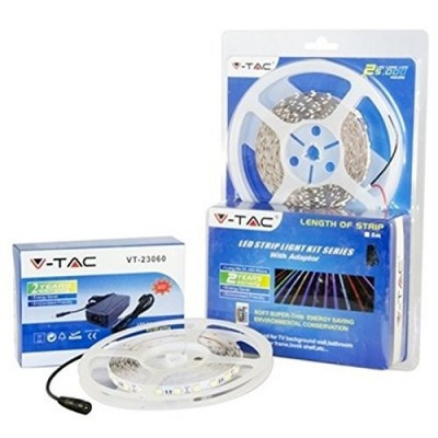 KIT STRIP LED 5050 IP20 RGB + ALIMENTATORE + CONTROLLER