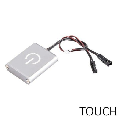 Interruttore e dimmer touch per Led